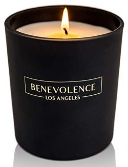 Benevolence LA Scented Candle – Aromatherapy Candles – All Natural Soy Wax Strong Scented  ...