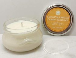 Orange Blossoms Soy Candle Glass Jar, 6oz