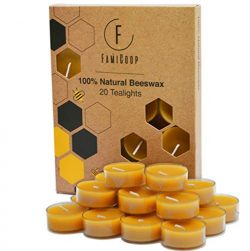 100% Pure Beeswax Candles – 20PC Organic Candles Non Toxic – Fill Your Home With the ...