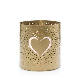 Yankee Candle Valentine's Day Heart Jar Candle Holder.
