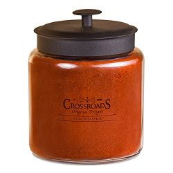 CROSSROADS ORIGINAL DESIGNS Crossroads Pumpkin Spice Scented 4-Wick Candle, 96 Ounce