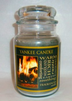 Yankee Candle 22 oz Jar Candle HEARTH for Fall – Retired Scent