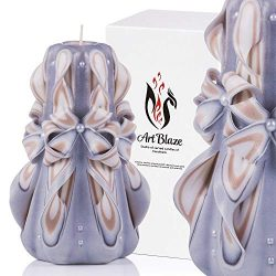 Decorative Gift Carved Candles – Birthday Gifts for Women – Gifts for Mom – In ...