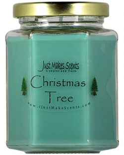 Christmas Tree Scented Blended Soy Candle | REAL Christmas Tree Fragrance | Hand Poured in the U ...