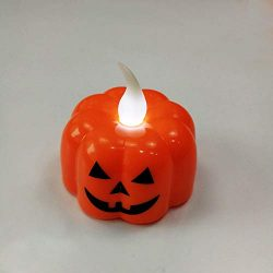 Hot Sale!DEESEE(TM)12 pcs Halloween Candle with LED Tea light Candles for Halloween Decoration part