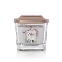 Yankee Candle Company Elevation Collection with Platform Lid, Small 1-Wick Square Candle | Passi ...