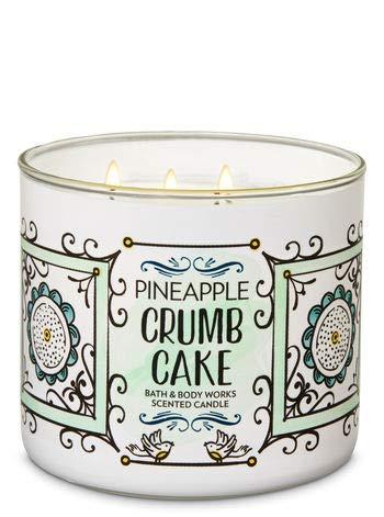 Bath & Body Works Pineapple Crumb Cake 3-Wick Candle