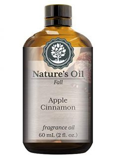 Apple Cinnamon Fragrance Oil (60ml) For Diffusers, Soap Making, Candles, Lotion, Home Scents, Li ...