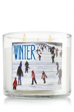 Bath & Body Works Winter 3 Wick 14.5 Oz Candle 2013 Edition