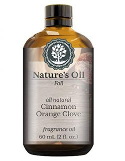 Cinnamon Orange Clove Fragrance Oil (60ml) For Diffusers, Soap Making, Candles, Lotion, Home Sce ...