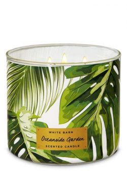 White Barn Oceanside Garden 3-Wick Candle