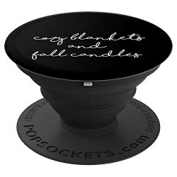 Cozy Blankets and Fall Candles Autumn Season Design – PopSockets Grip and Stand for Phones ...