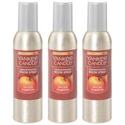 Yankee Candle Concentrated Room Spray 3-PACK (Spiced Pumpkin)