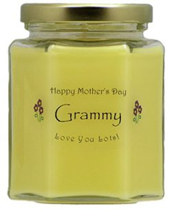 Just Makes Scents Grammy Mothers Day Candle – Honeysuckle Scented Candle – Hand Pour ...