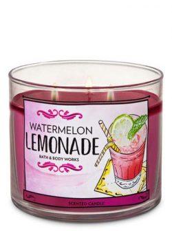 Bath & Body Works Watermelon Lemonade 3-Wick Candle