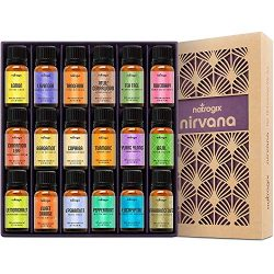 Natrogix Nirvana Essential Oils – Top 18 Essential Oil Set 100% Pure Therapeutic Grade 18/ ...