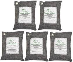 OLIVIA & AIDEN 5 Pack – Large 200g Bags – Activated Bamboo Charcoal All Natural  ...