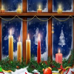 Christmas Candle Free