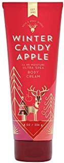 Bath & Body Works Winter Candy Apple Ultra Shea Body Cream, 8 Ounce