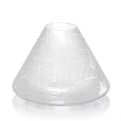 Yankee Candle Frosted Leaves Jar Candle Shade