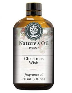 Christmas Wish Fragrance Oil (60ml) For Diffusers, Soap Making, Candles, Lotion, Home Scents, Li ...