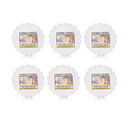 Yankee Candle Lot of 6 Winter Glow Tarts Wax Melts