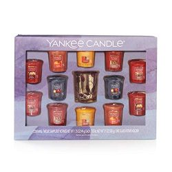 Yankee Candle Samplers Votive Candle Gift Set, Seasonal, Scents of Autumn