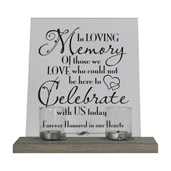 LifeSong Milestones Loss of Mother, Father, Child, Parents Loved Ones Memorial Sympathy Candle 8 ...
