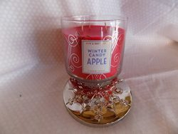 BW Bath and Body Works Winter Candy Apple Scented Candle