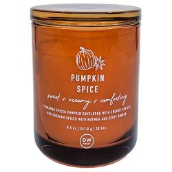 DW Home Pumpkin Spice Scented Candle