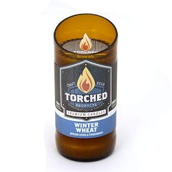 Torched Beer Candles (Winter Wheat, 8 oz)