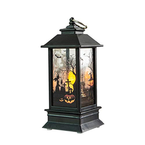 Akabsh Halloween Decorative Lights, Halloween Candle with LED Tea Light Candles for Halloween De ...