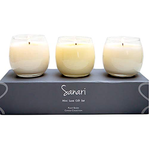 SANARI – Organic Aromatherapy Candles, Stemless Wine Glasses, Zen Candles, Fragrance Free, ...
