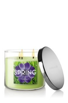Slatkin and Co. Spring Three Wick 14.5 Oz. Scented Candle – Bath & Body Works