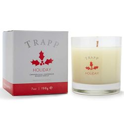 Trapp Seasonal Collection 7oz Poured Scented Candle, Holiday