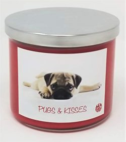 S&M Candle Factory Sugar Cookie Candle ~ Pugs & Kisses Soy Wax Candle ~ Great Valentine& ...