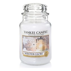 Yankee Candles Winter Glow Large Jar Candle,Fresh Scent