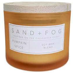 Sand + Fog Pumpkin Spice Scented Candle Hello Fall Top