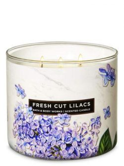 White Barn Fresh Cut Lilacs 3-Wick Candle Special Edition 2019