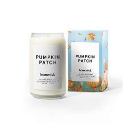Homesick Scented Candle, Pumpkin Patch