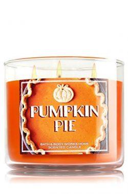 Bath & Body Works Candle 3 Wick 14.5 Ounce Pumpkin Pie