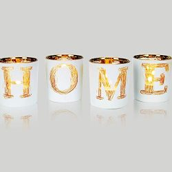 lEPECQ Table Centerpieces Candle Holders, Centerpieces Votive Candle Holder Set, Home Decorative ...
