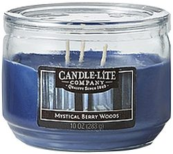 Candle-Lite Everyday Scented Pumpkin Nutmeg Pie 3-Wick Jar Candle, 10 oz, Orange