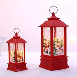 ☀ Dergo ☀ Christmas light,Christmas Candle with LED Tea light Candles for Christmas Decoration party