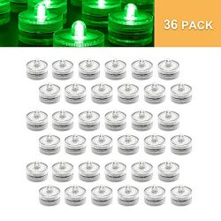 HL Happpiness Light SubmersibleTea Lights Waterproof Underwater LED Candle Light for Wedding Hom ...