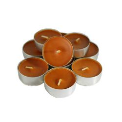 CandleNScent Pumpkin Scented Candles Tea Lights – Pumpkin Fragrance – Pack of 12