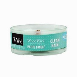 WoodWick Clean Rain Petite 1.1 oz Scented Candles