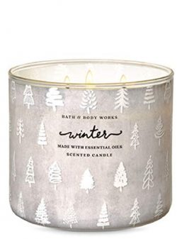 White Barn Bath and Body Works Candle Winter 3 Wick Scented Candle 14.5 oz