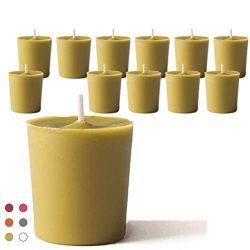 CandleNScent Scented Candles | Votive Candles Bulk – 15 Hour Burn Time (Color/Scent Variat ...