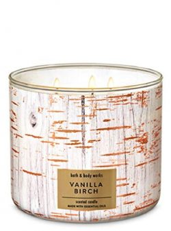 Bath & Body Works 3-Wick Scented Candle in Vanilla Birch
